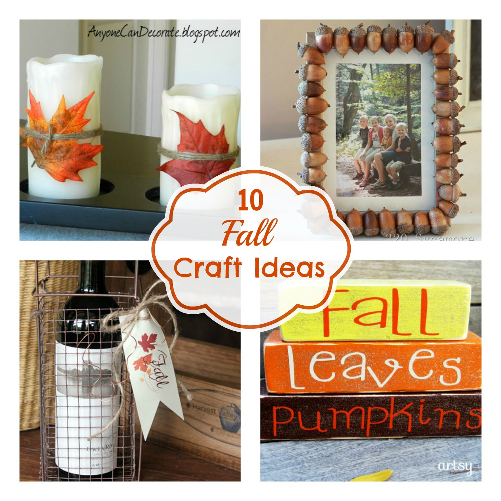 Fun Home Things: 10 Fall Craft Ideas