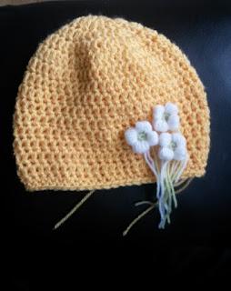 Mrs U Makes... Crochet Baby Hat @MrsUMakes #mymrsumakes #hatsofftoyakid