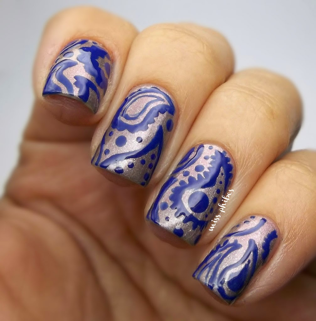 Paisley Nail art