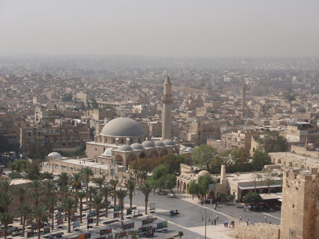 the Great Mosque of Aleppo