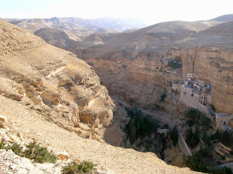 The Monastery in Dead Sea