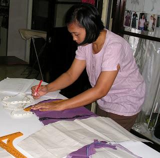 dalam membuat baju adalah cara membuat pola baju. Belajar membuat ...