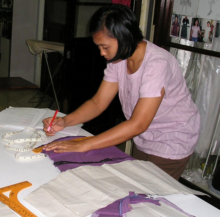 dalam membuat baju adalah cara membuat pola baju. Belajar membuat baju ...