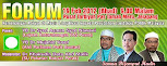 FORUM: 19 Februari 2012, Pusat Tarbiyah PAS Tambun, 9.00 malam