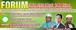 FORUM: 19 Februari 2012, Pusat Tarbiyah PAS Tambun, 9.00 malam