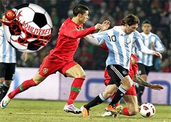 Agen Bola - Cristiano Ronaldo dan Lionel Messi, akan memanaskan laga pertandingan persahabatan Portugal vs Argentina