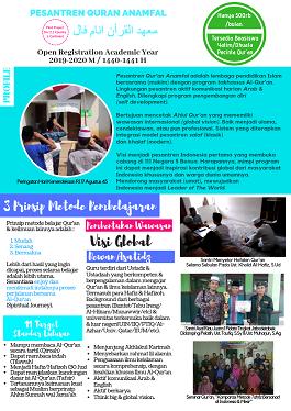 Download Brochure New Santri Registration 2019