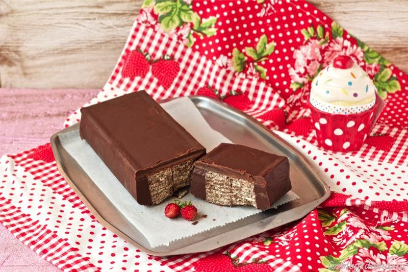 Chocolatina gigante, videoreceta