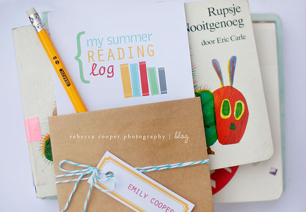Summer Reading Log Printables