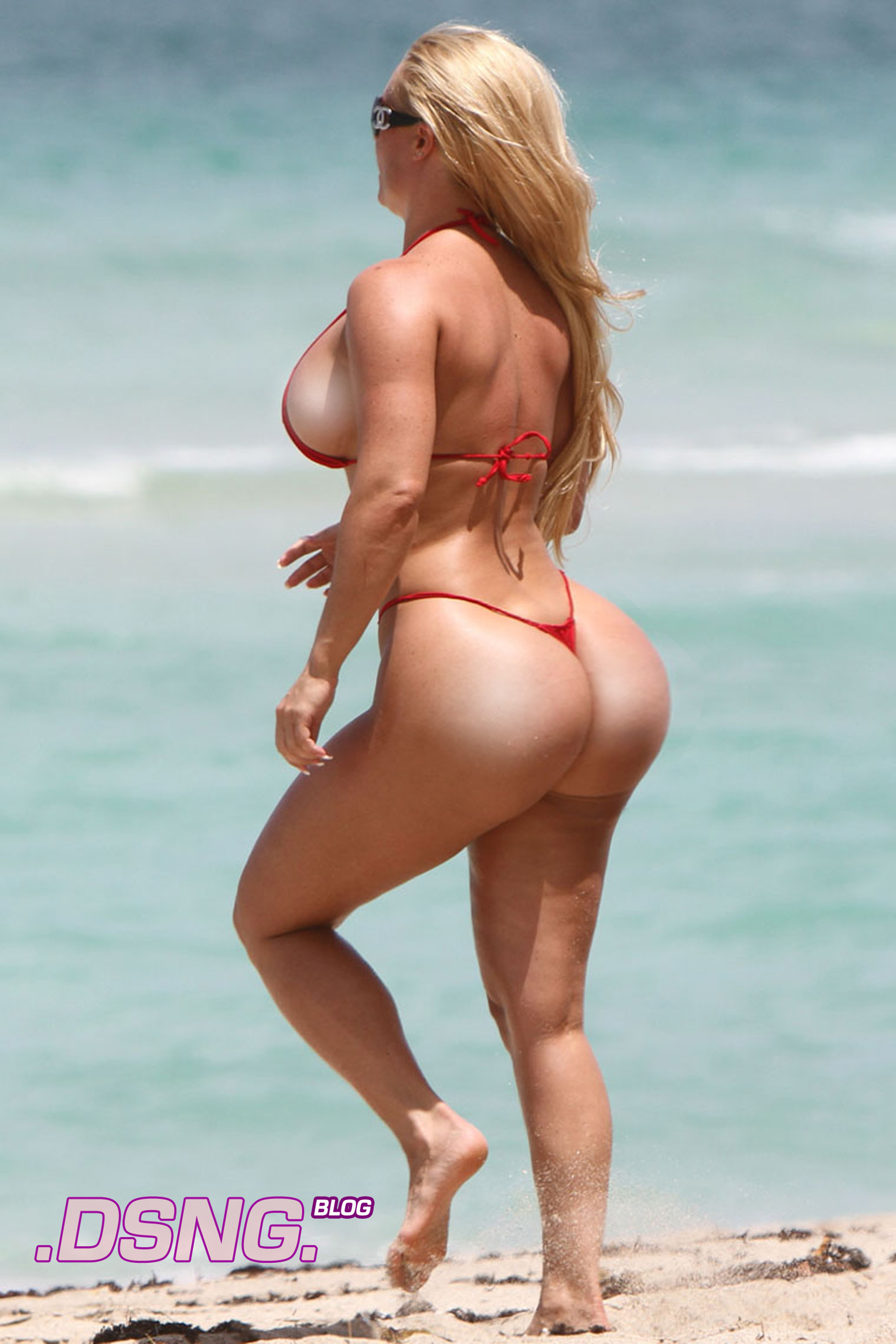 Coco Big Phat Fat Nicole Austin Booty Butt Ass White Girl Pawg