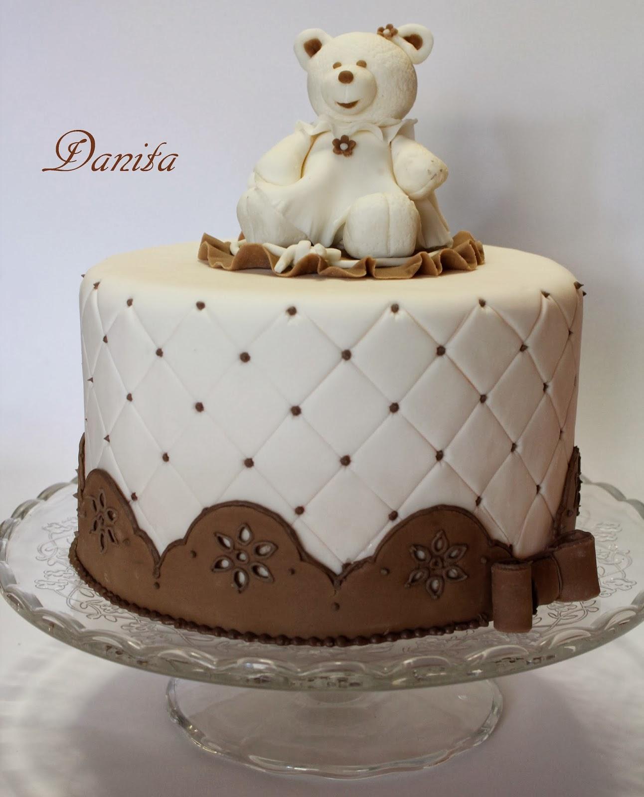 Ricette Segrete Cake Design : Le leccornie di Danita: Corso di cake design: Torta orsetto