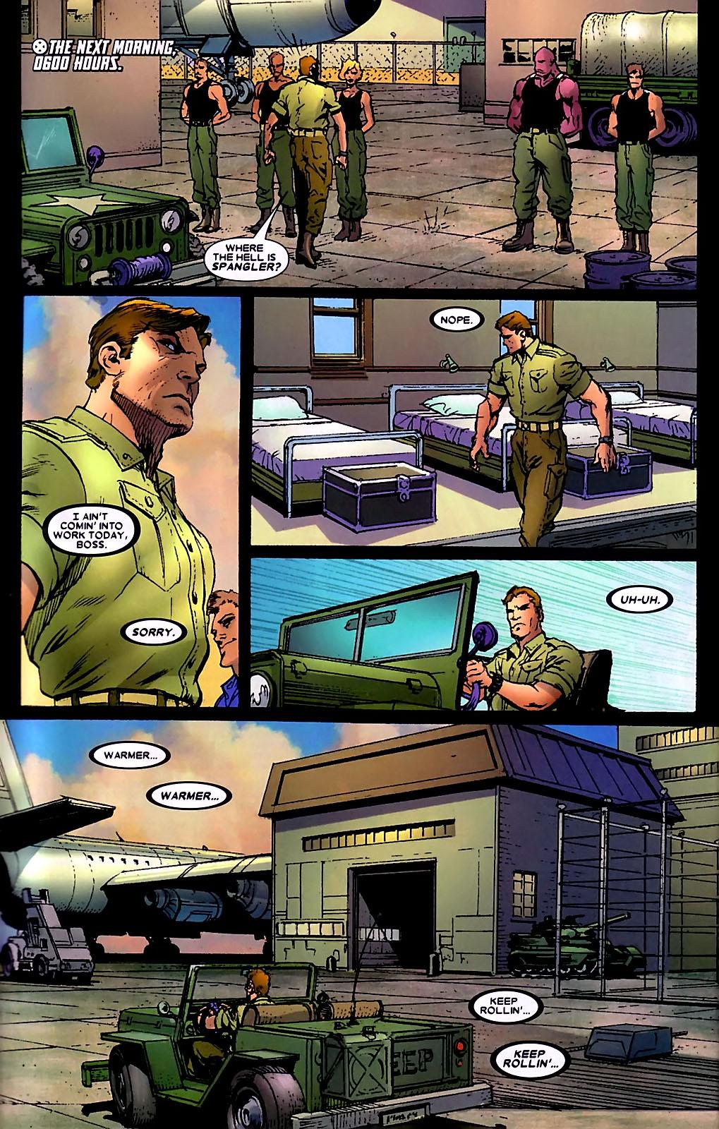 Read online Wolverine (2003) comic -  Issue #34 - 17