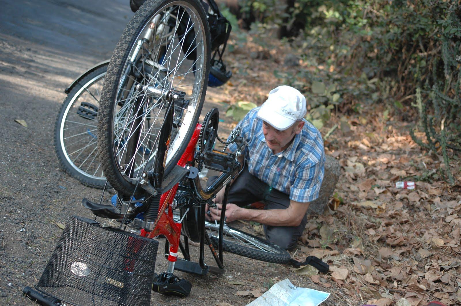 Cykeltur 2011/2012; Indiens västra kust