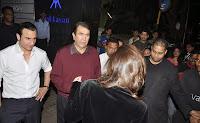 Saif, Kareena & Karisma at Randhir Kapoor's private dinner