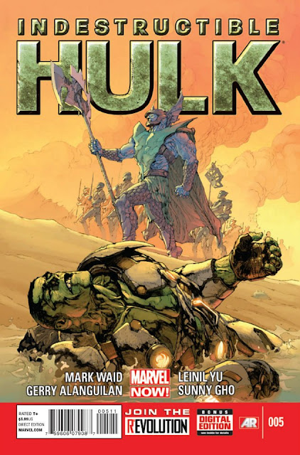 Indestructible Hulk #5 (Marvel Now) Comics descarga gratis español