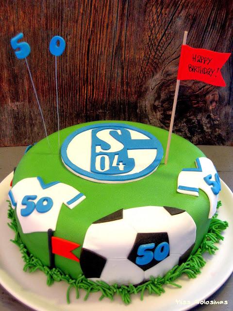 Fussballtorte, Geburtstagstorte für Männer