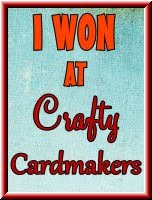 Crafty Cardmakers Winner ~ Challenge 84 Vintage Love - February 2013