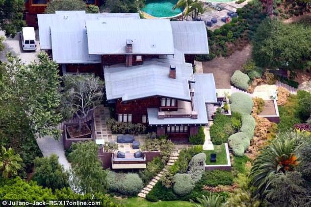 Residencia de Brad Pitt en Hollywood Hills