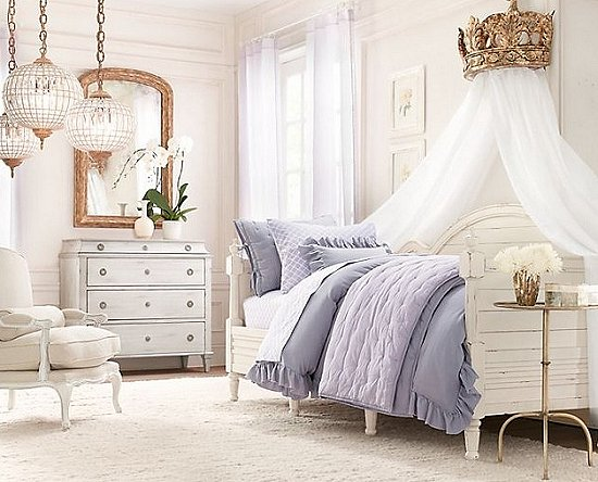 Decorating theme bedrooms maries manor princess style for Princess style bedroom furniture