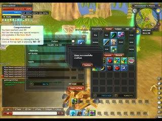 Rose Online Crafting system