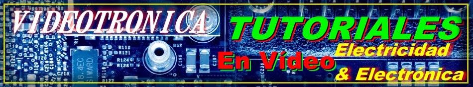 Análisis de circuitos eléctricos y electrónicos en vídeo.