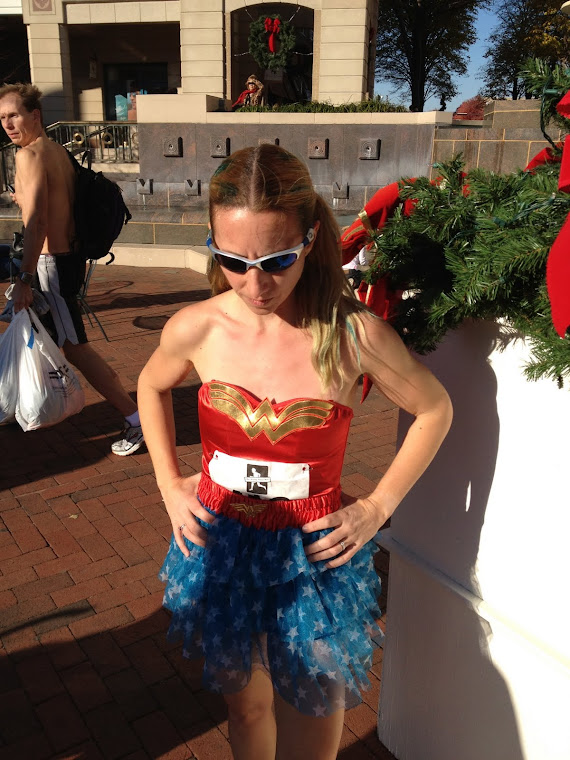 Super Hero or Awesome Runner in Disguise?