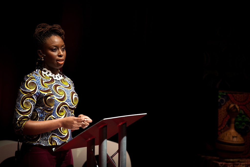 chimamanda adichie speech We should all be feminists is a book-length essay by the nigerian author chimamanda ngozi adichie first published in 2014 by fourth estate, it aims to give a definition of feminism for the 21st century the essay was adapted from adichie's 2012 tedx talk of the same name, first delivered at tedx euston, which has been.