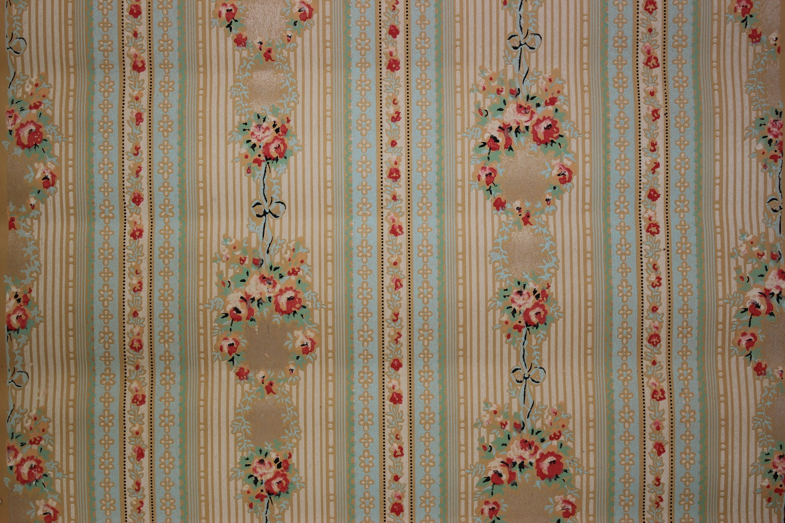Rosie 39 s vintage wallpaper january 2012 for Vintage wallpaper