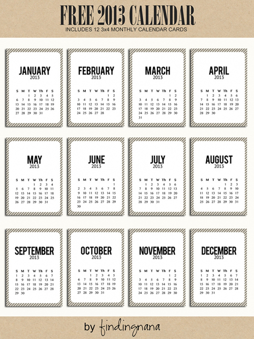 2013 Calendar%2528pp w699 h932%2529 Happy New Year | Free 2013 Printable Calendars