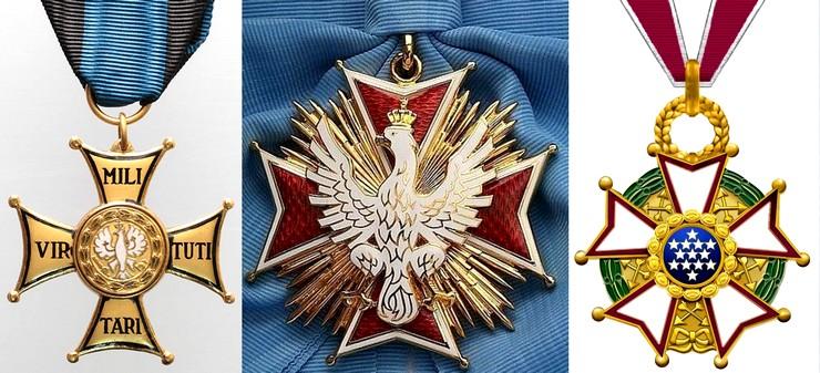Odznaczenia generała Leopolda Okulickiego