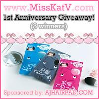 MissKatV's 1st Anniversary Giveaway! [Part 1] (02/01)