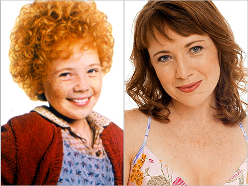 Annie then and now