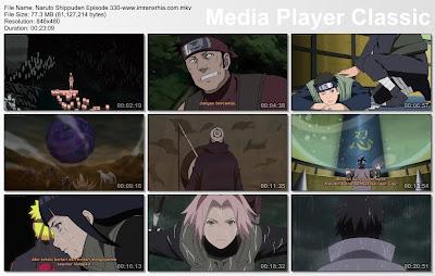 """Download Film / Anime Naruto Episode 330 """"Prediksi kemenangan"""" Shippuden Bahasa Indonesia"""