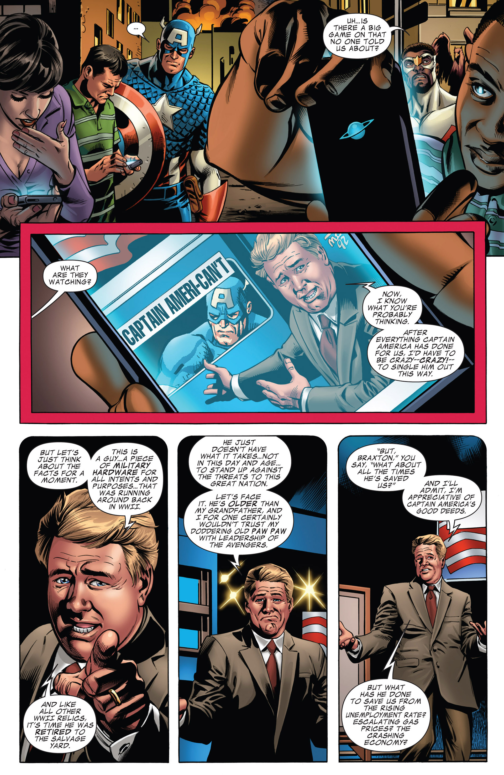 Captain America (2011) Issue #15 #15 - English 12
