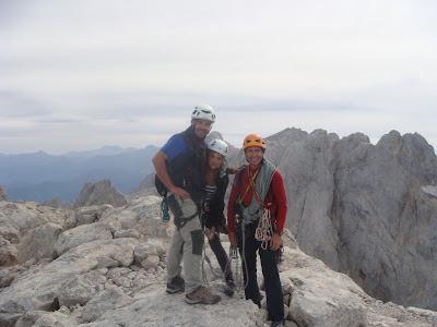 Cumbre del Picu Urriellu.