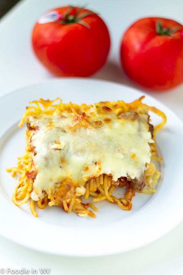 Click for Recipe for Baked Spaghetti