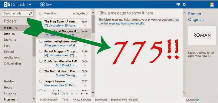 Organise your email inbox in 4 easy steps