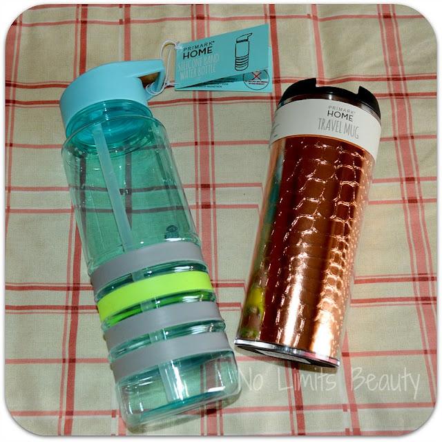 Compras Primark Enero 2016 - Water Bottle y Travel Mug