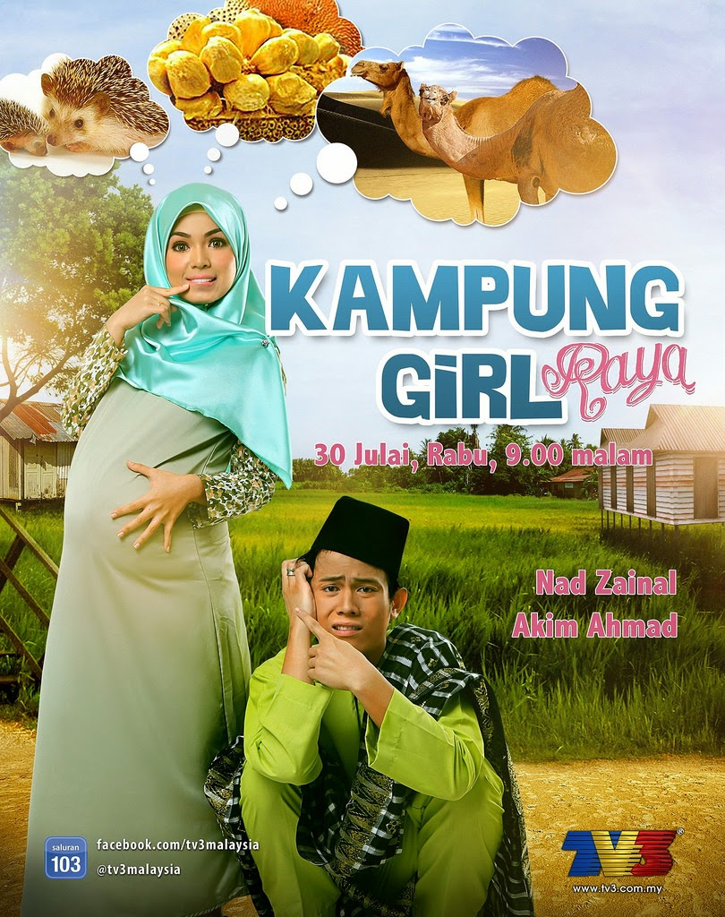 Kampung Girl Raya (TV3)