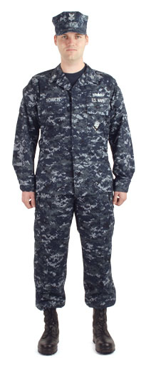 of the marpat as a work uniform airman combat uniform