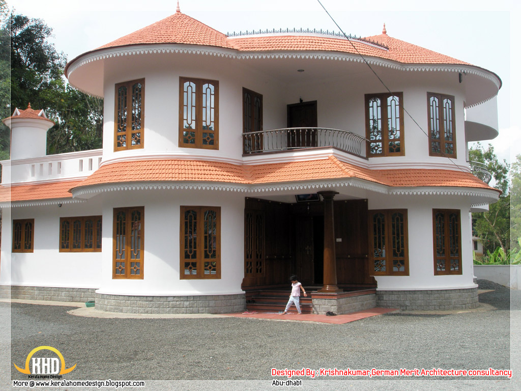 2800 sq ft villa in kerala kerala home design kerala for Villa plans in kerala