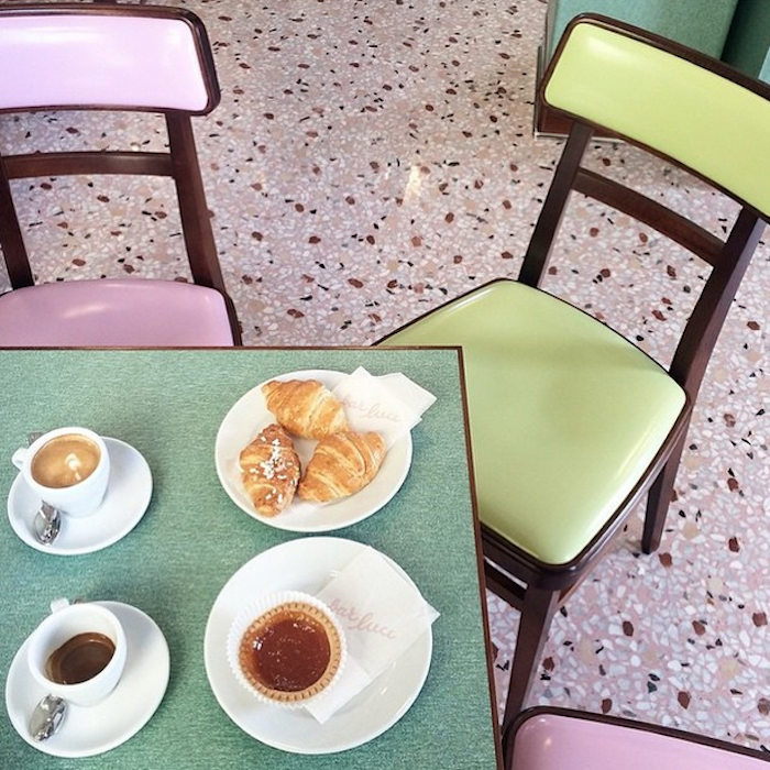Wes Anderson cafe