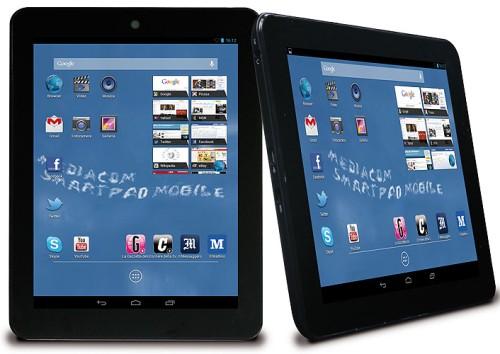 Display da 8 pollici, uscita hdmi, 8 GB di memoria interna e tanto altro per il nuovo tablet android 4.2 di Mediacom