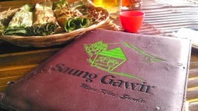 Menu Makanan Saung Gawir