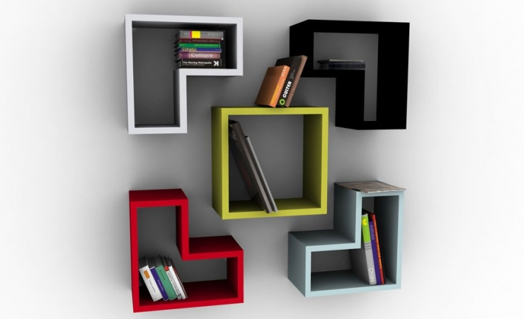 Modern Bookshelf Design Idea 740 x 451