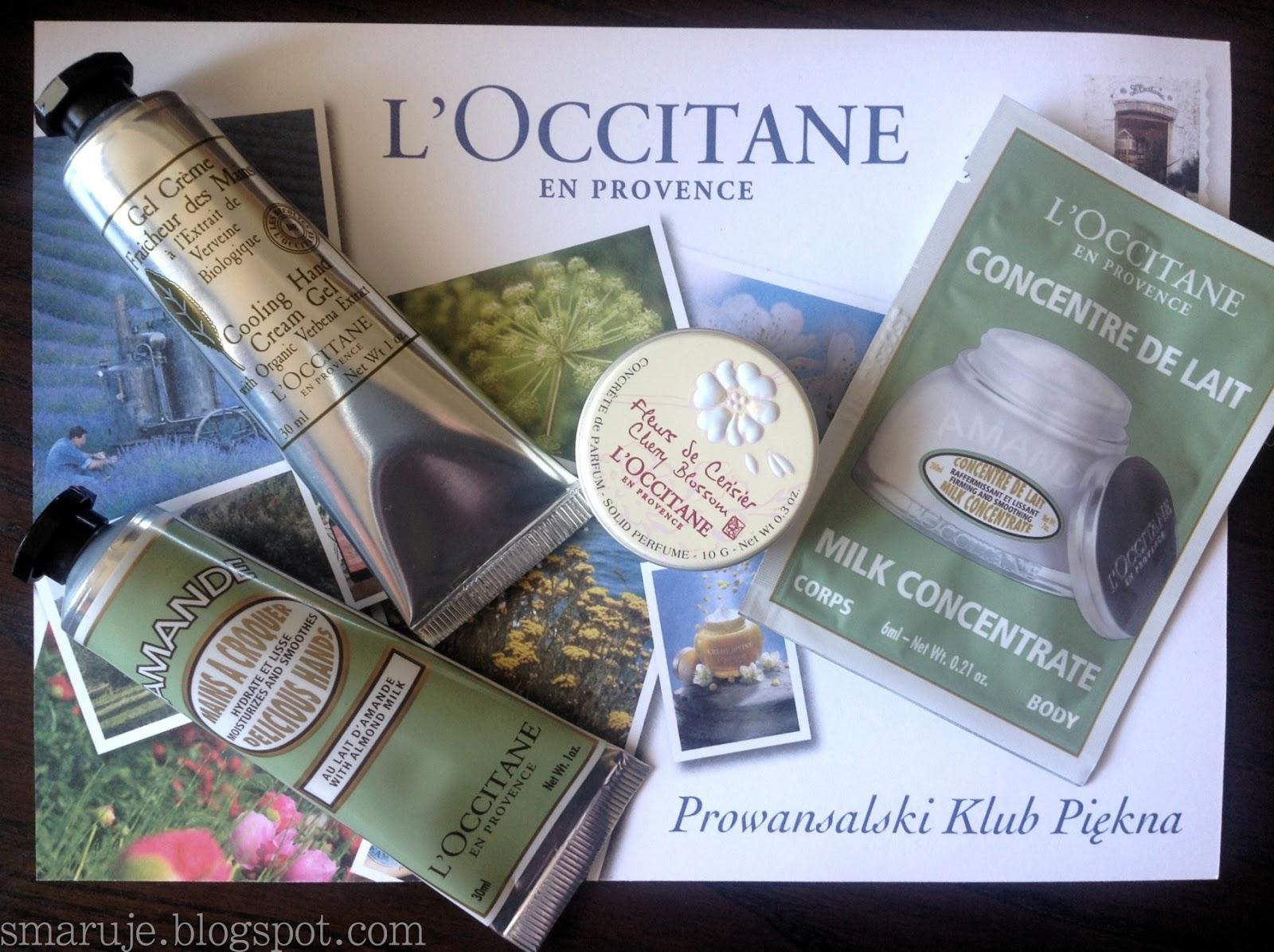 Pierwsze spotkanie z L'Occitane