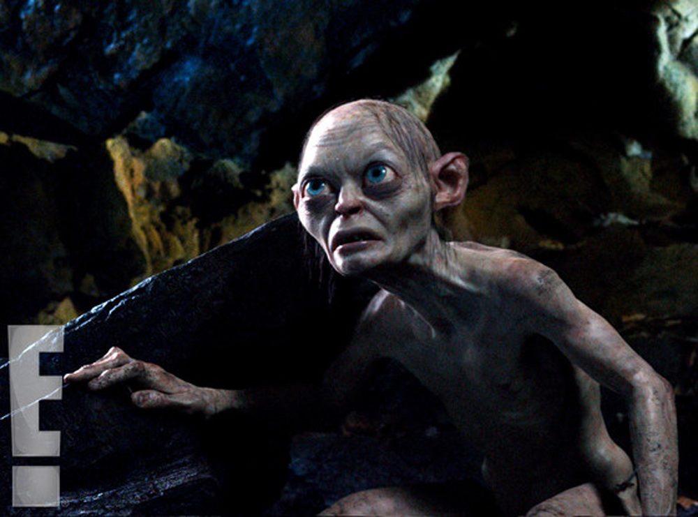 Our First Really Good Look At Gollum From The Hobbit