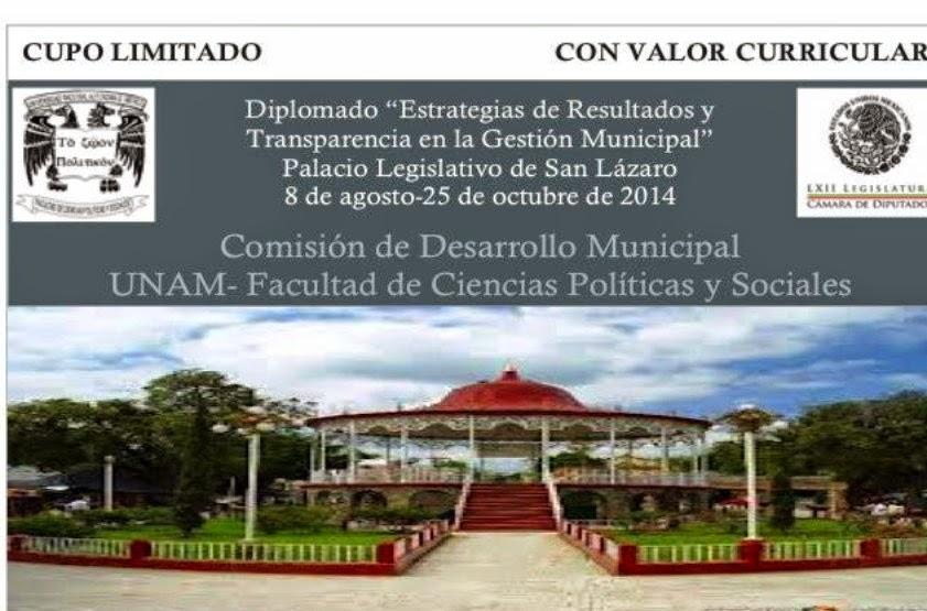 Diplomado entre Cámara de Diputados y UNAM