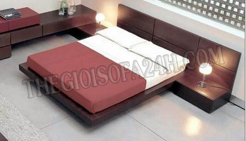 Giường ngủ GN048