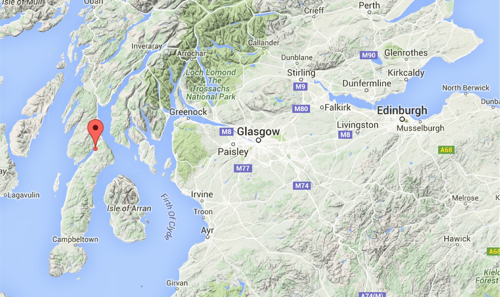 Sciency Thoughts: Magnitude 1.4 Earthquake on the Kintyre Peninsula ...
